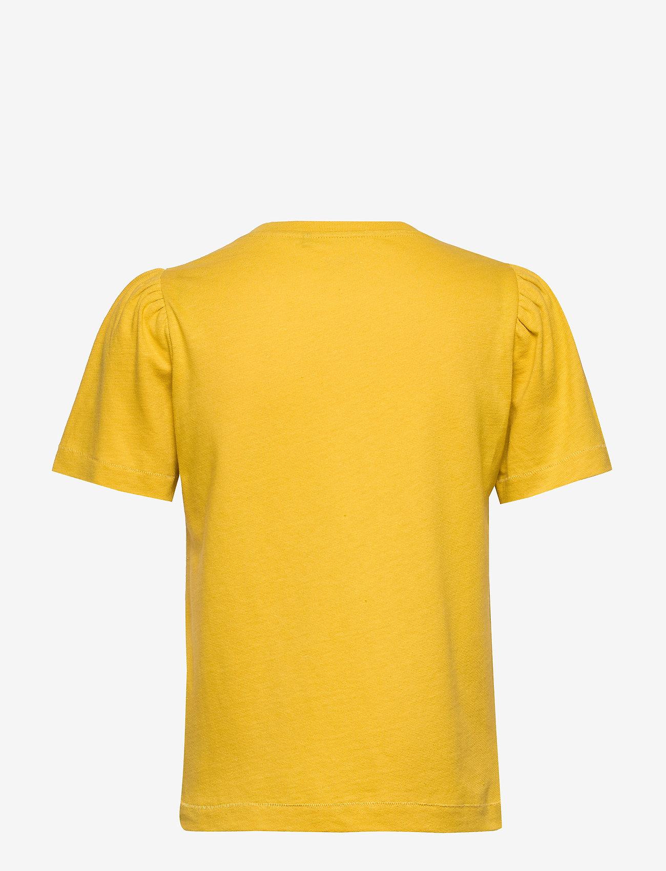 Day Birger et Mikkelsen - DAY Carina - t-shirts basiques - ceylon yellow - 1