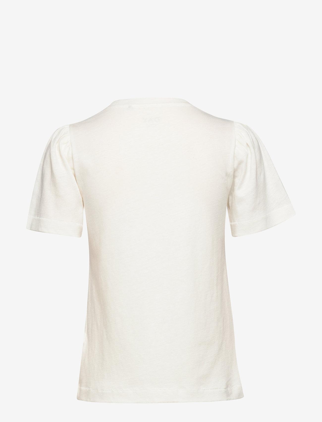 Day Birger et Mikkelsen - DAY Carina - t-shirts basiques - white fog - 1