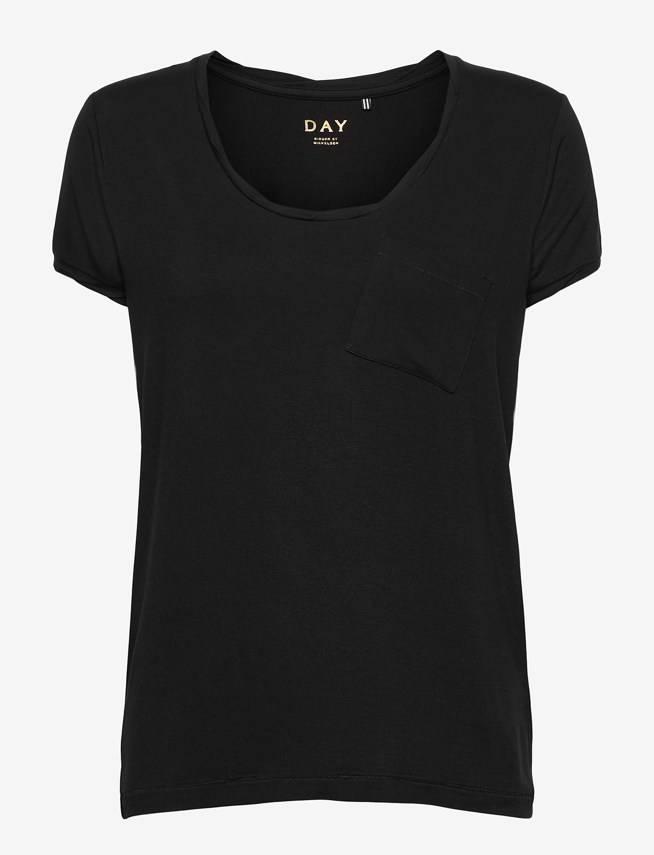 Day Birger et Mikkelsen - DAY New Clean Twist - t-shirts - black - 0