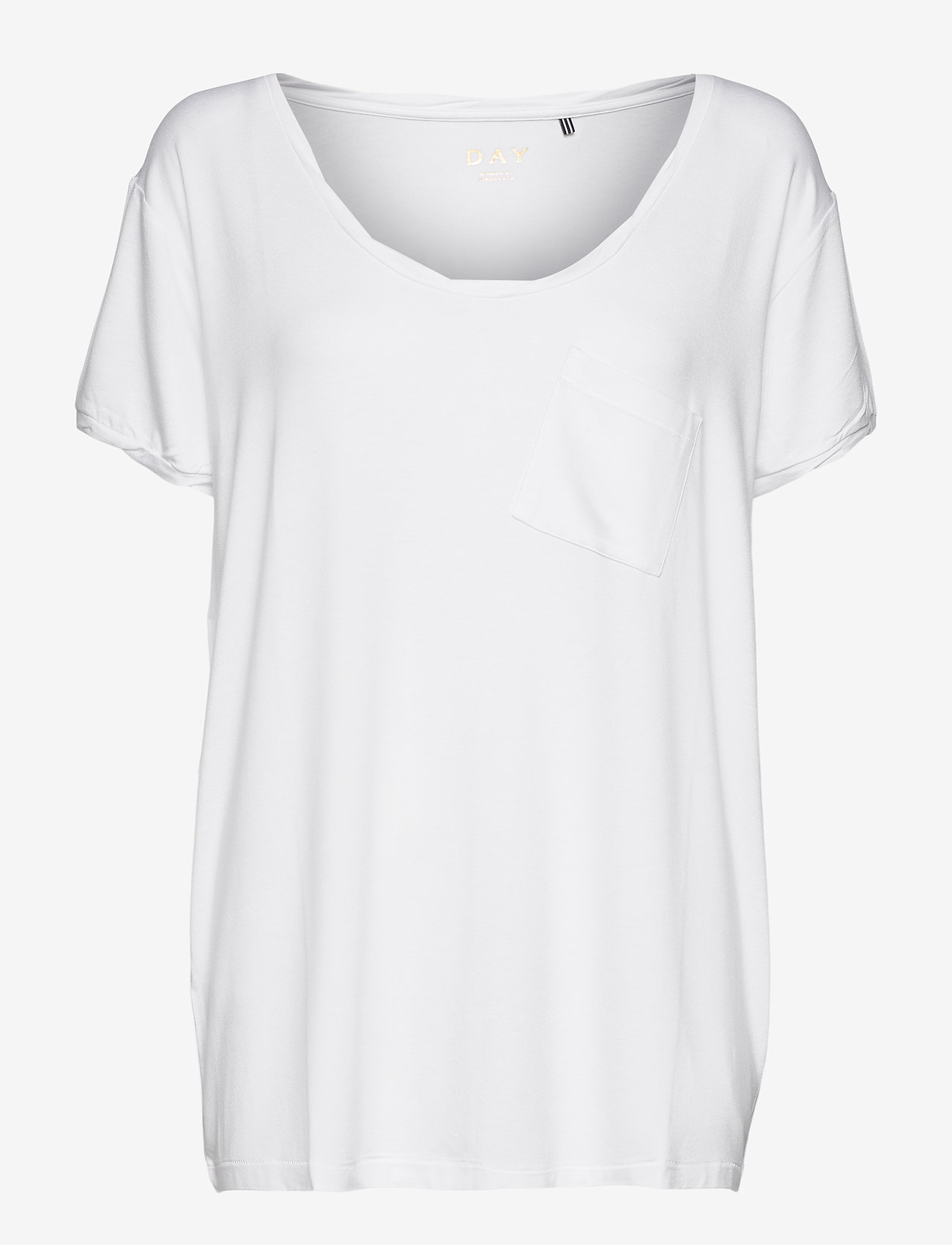 Day Birger et Mikkelsen - DAY New Clean Twist - t-shirts - bright white - 0
