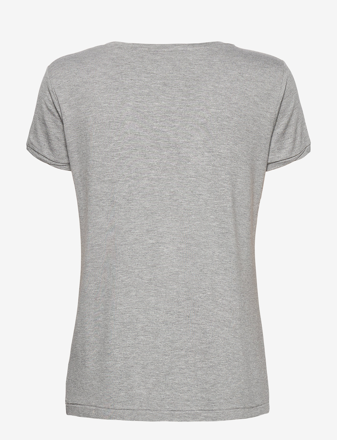 Day Birger et Mikkelsen - DAY New Clean Twist - t-shirts - medium grey mel. - 1