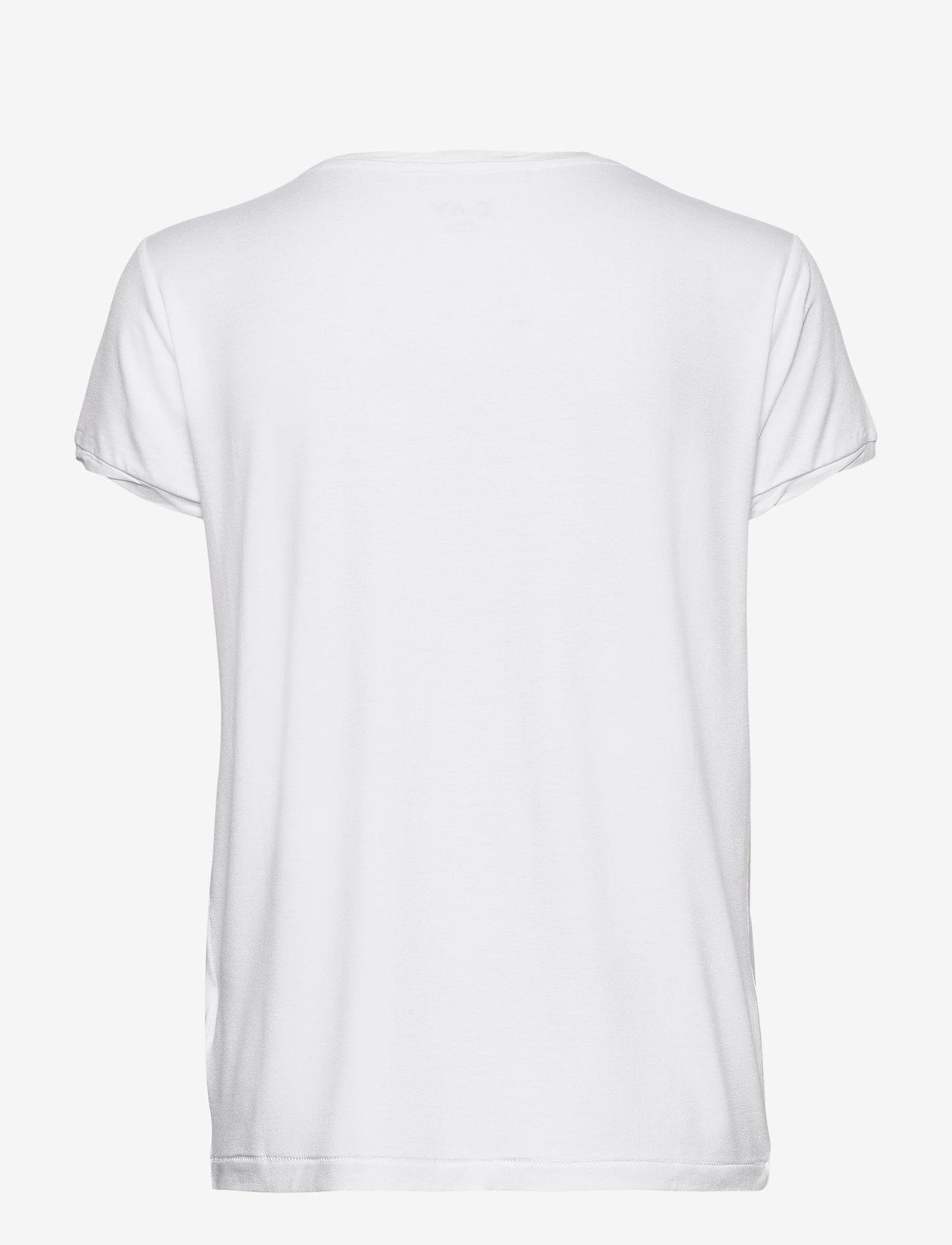 Day Birger et Mikkelsen - DAY New Clean Twist - t-shirts - white - 1