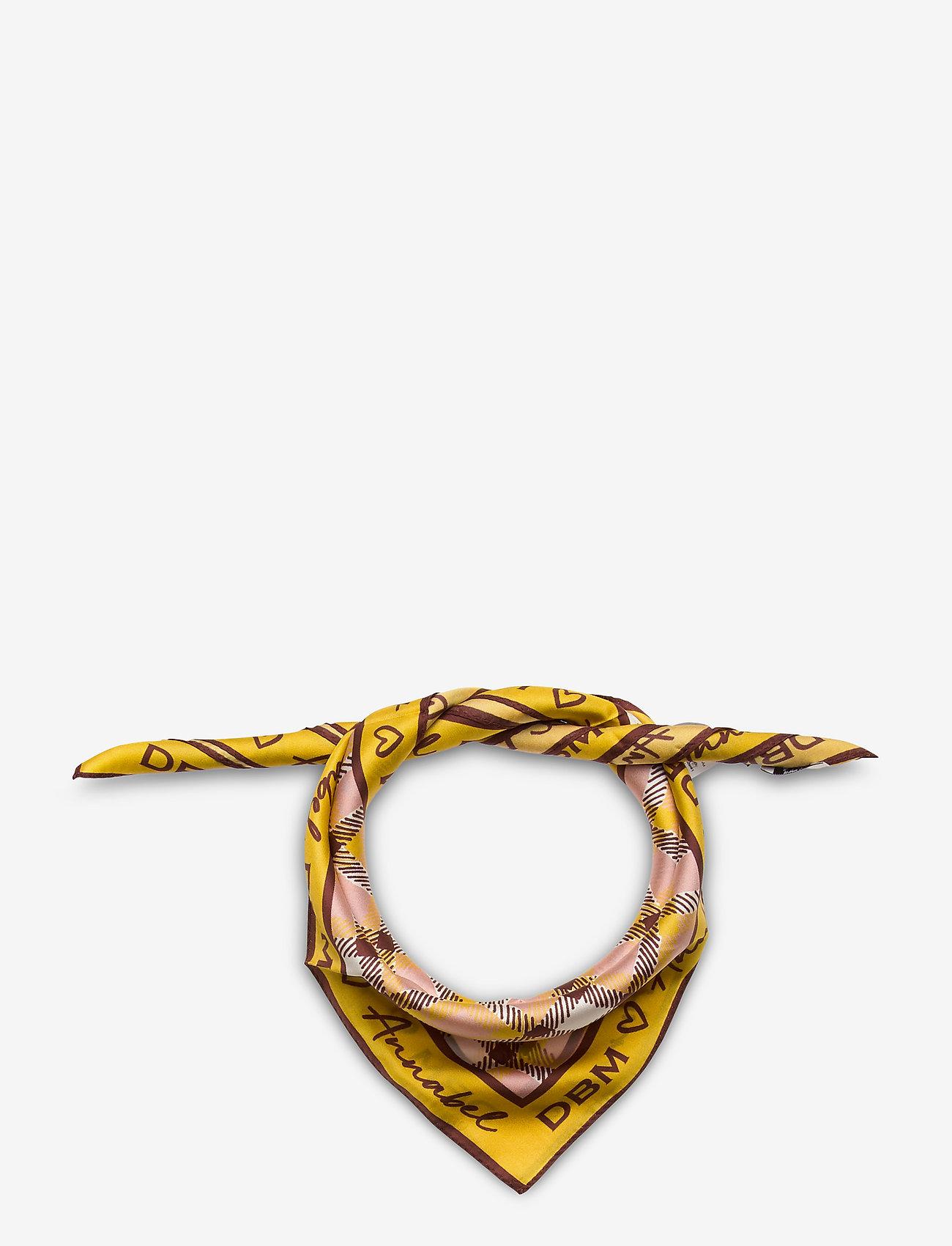 Day Birger et Mikkelsen - Day Tie Scarf - szaliki i chusty - ceylon yellow - 0