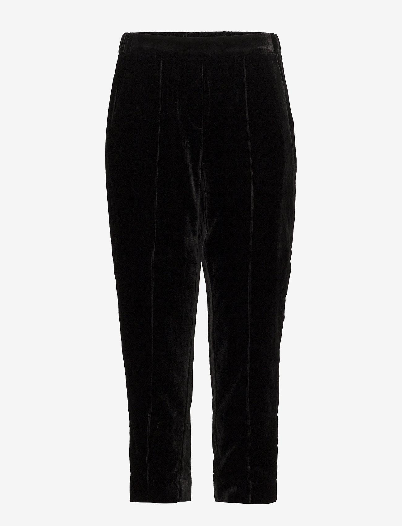 Day Birger et Mikkelsen - Day Tactile - bukser med brede ben - black - 0