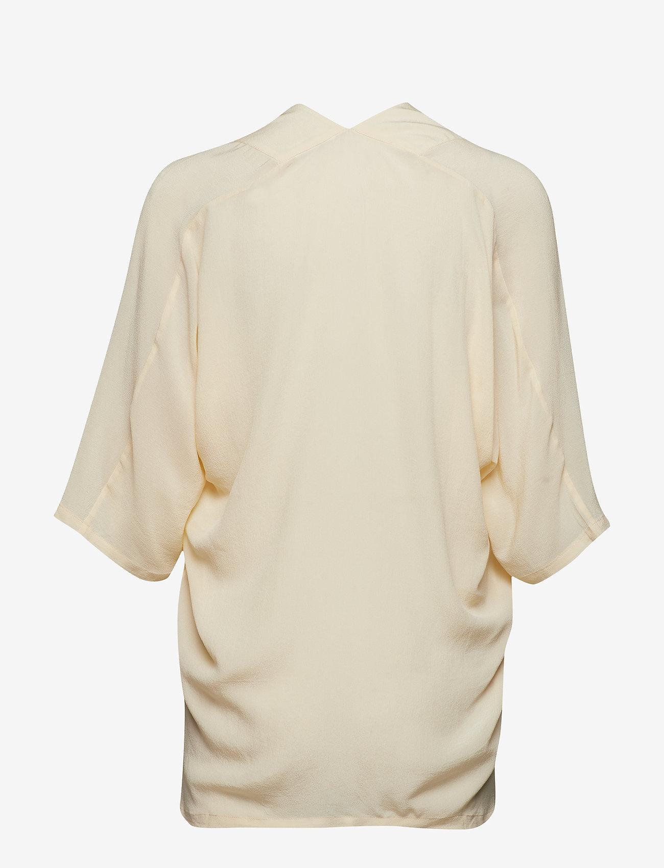 Day Birger et Mikkelsen - Day Fan - short-sleeved blouses - butter - 1