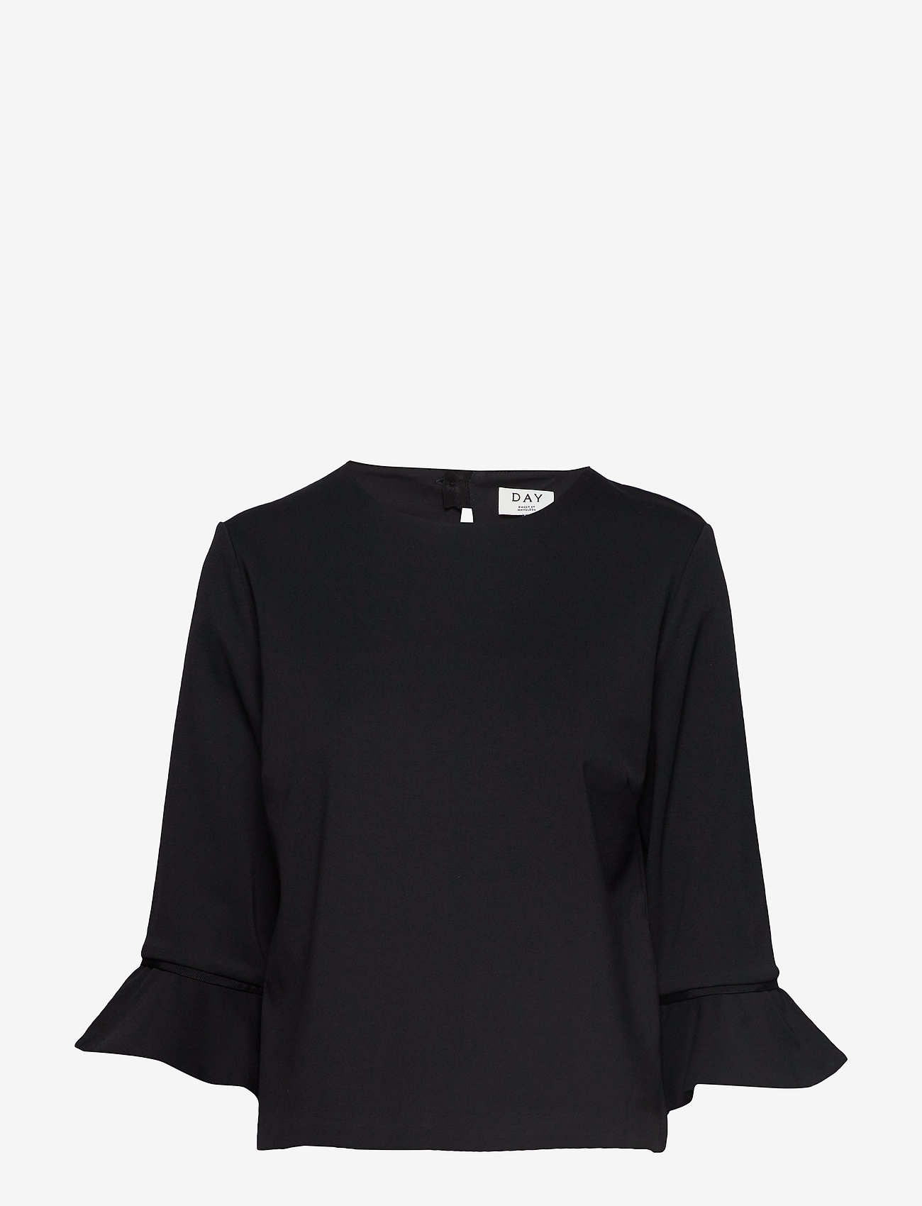 Day Birger et Mikkelsen - Day Cikade - long sleeved blouses - black - 0
