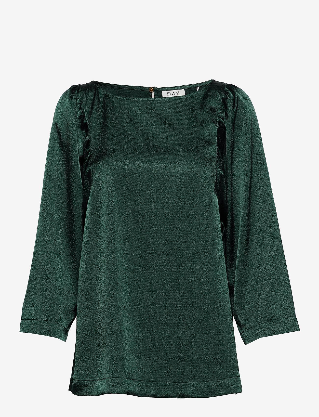 Day Birger et Mikkelsen - Day Yasam - long sleeved blouses - envy green - 0