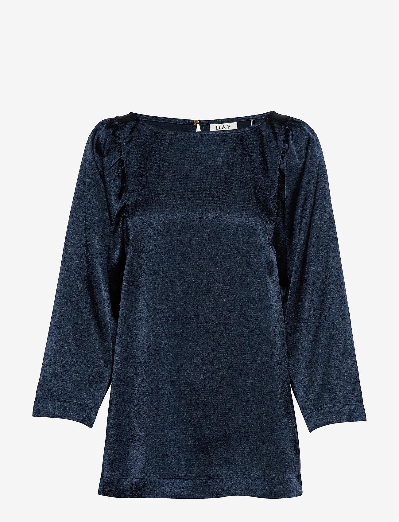 Day Birger et Mikkelsen - Day Yasam - long sleeved blouses - sky captain