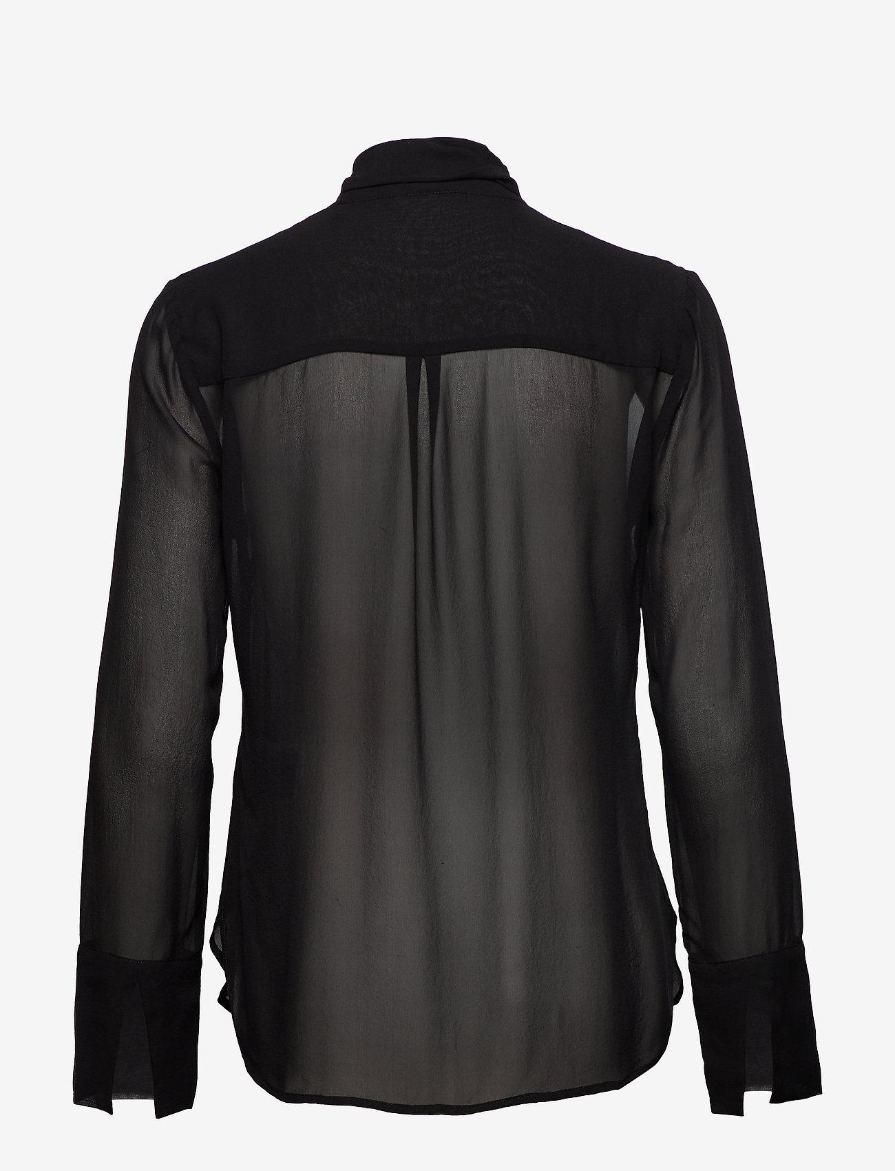 Day Birger et Mikkelsen - Day Kelebek - long sleeved blouses - black - 1