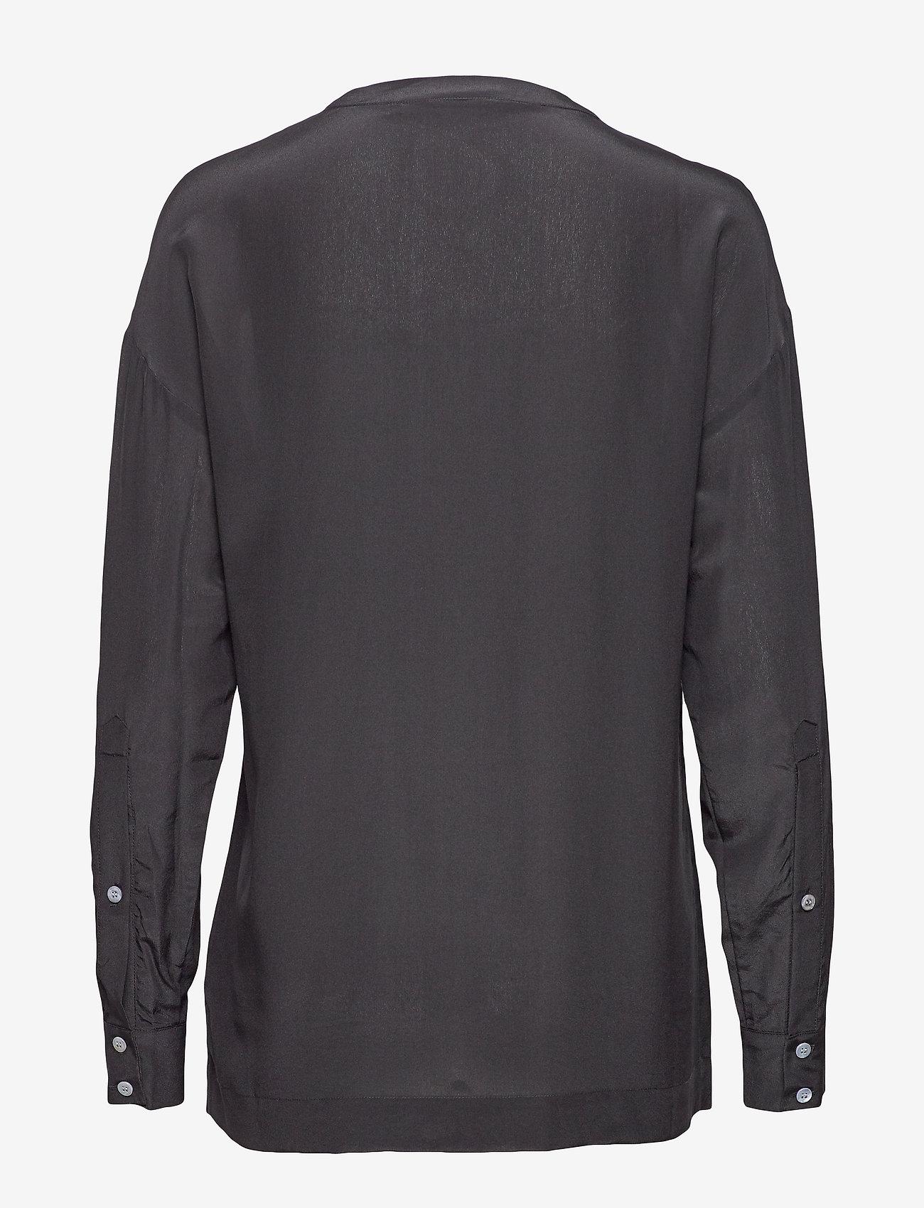Day Birger et Mikkelsen - Day Fan - long sleeved blouses - black - 1