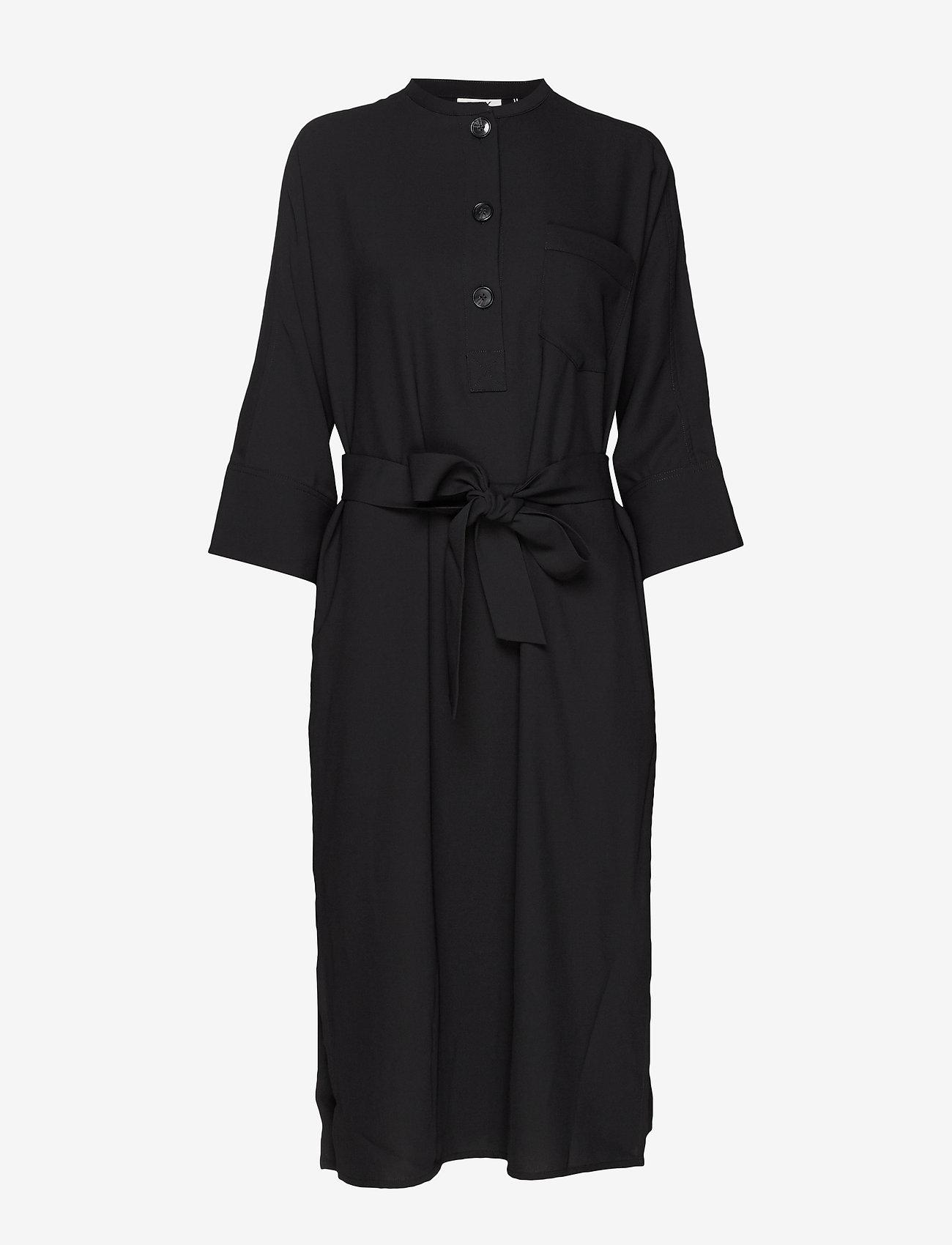 Day Birger et Mikkelsen - Day Classic Gabardine - midi dresses - black