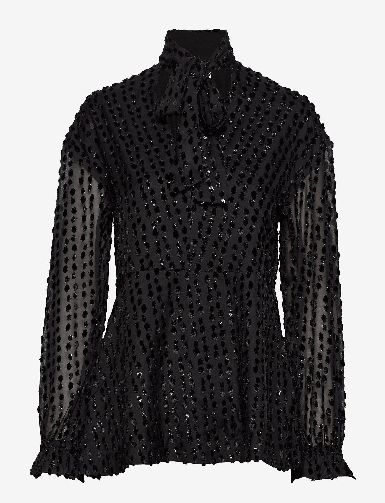 Day Birger et Mikkelsen - Day Aperitivo - long sleeved blouses - black - 0