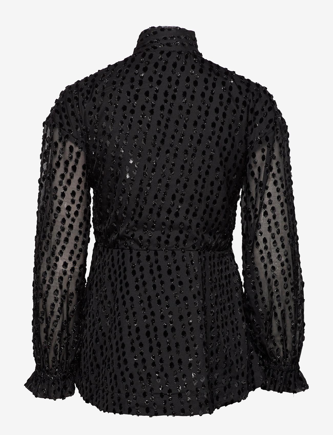 Day Birger et Mikkelsen - Day Aperitivo - long sleeved blouses - black - 1
