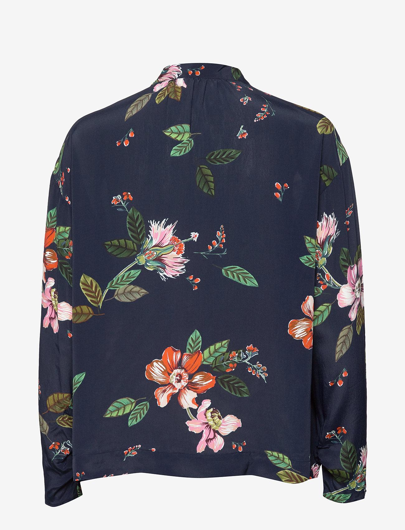 Day Birger et Mikkelsen - Day Bouquet - pitkähihaiset puserot - navy blazer
