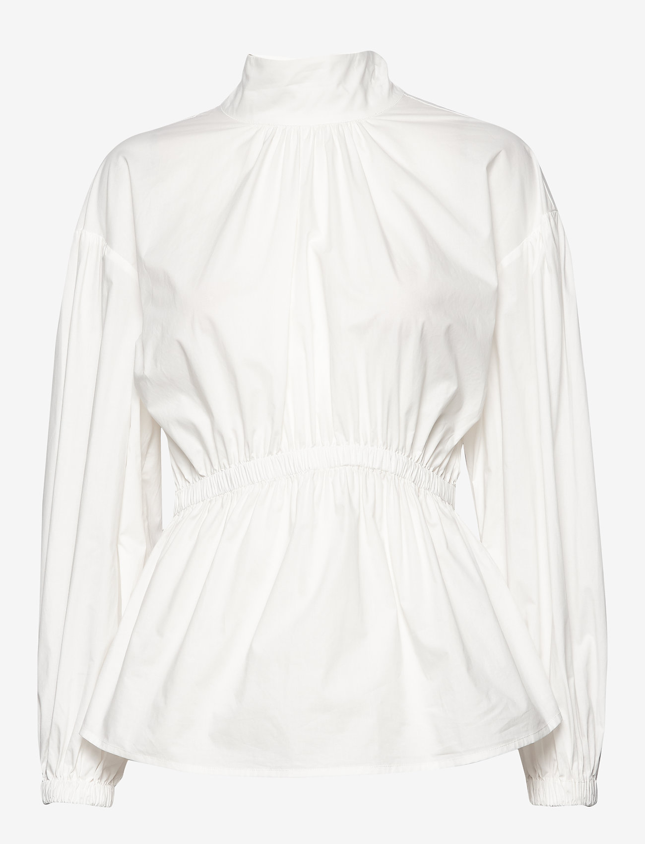 Day Birger et Mikkelsen - Day Springtime Solid - long sleeved blouses - white fog - 0