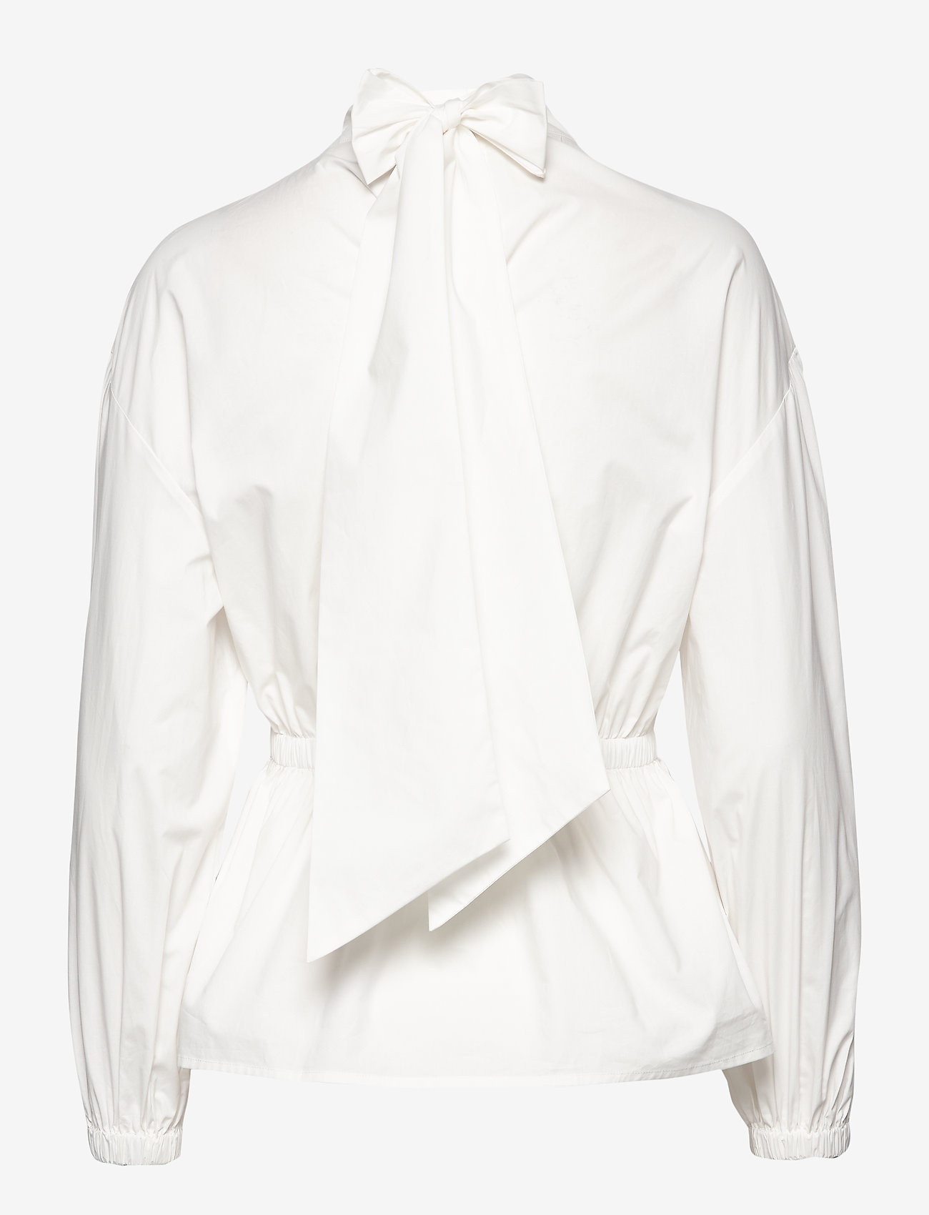 Day Birger et Mikkelsen - Day Springtime Solid - long sleeved blouses - white fog - 1