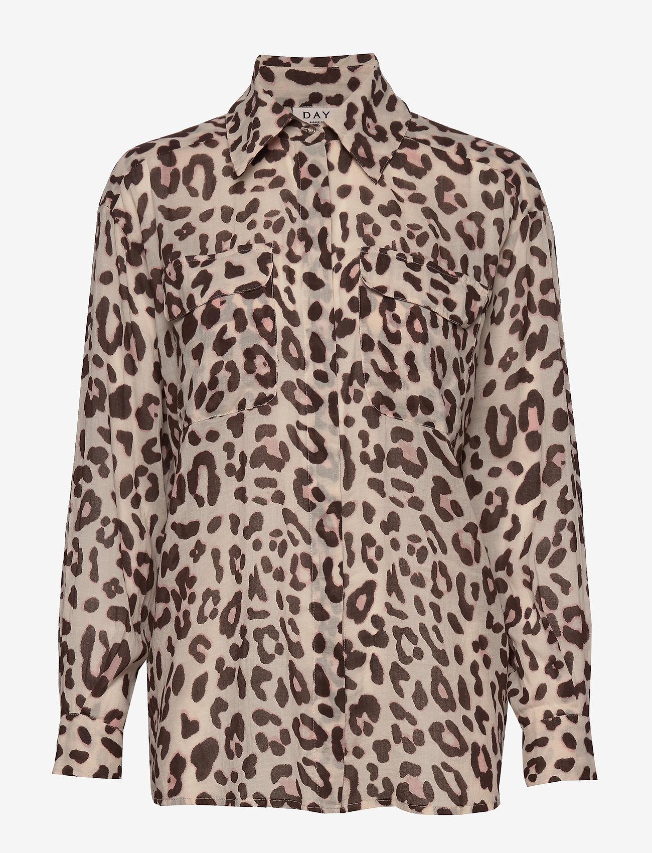 Day Birger et Mikkelsen - Day Mio - long sleeved blouses - smoke - 0