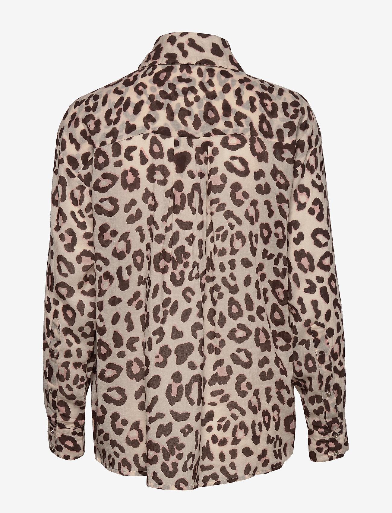 Day Birger et Mikkelsen - Day Mio - long sleeved blouses - smoke - 1