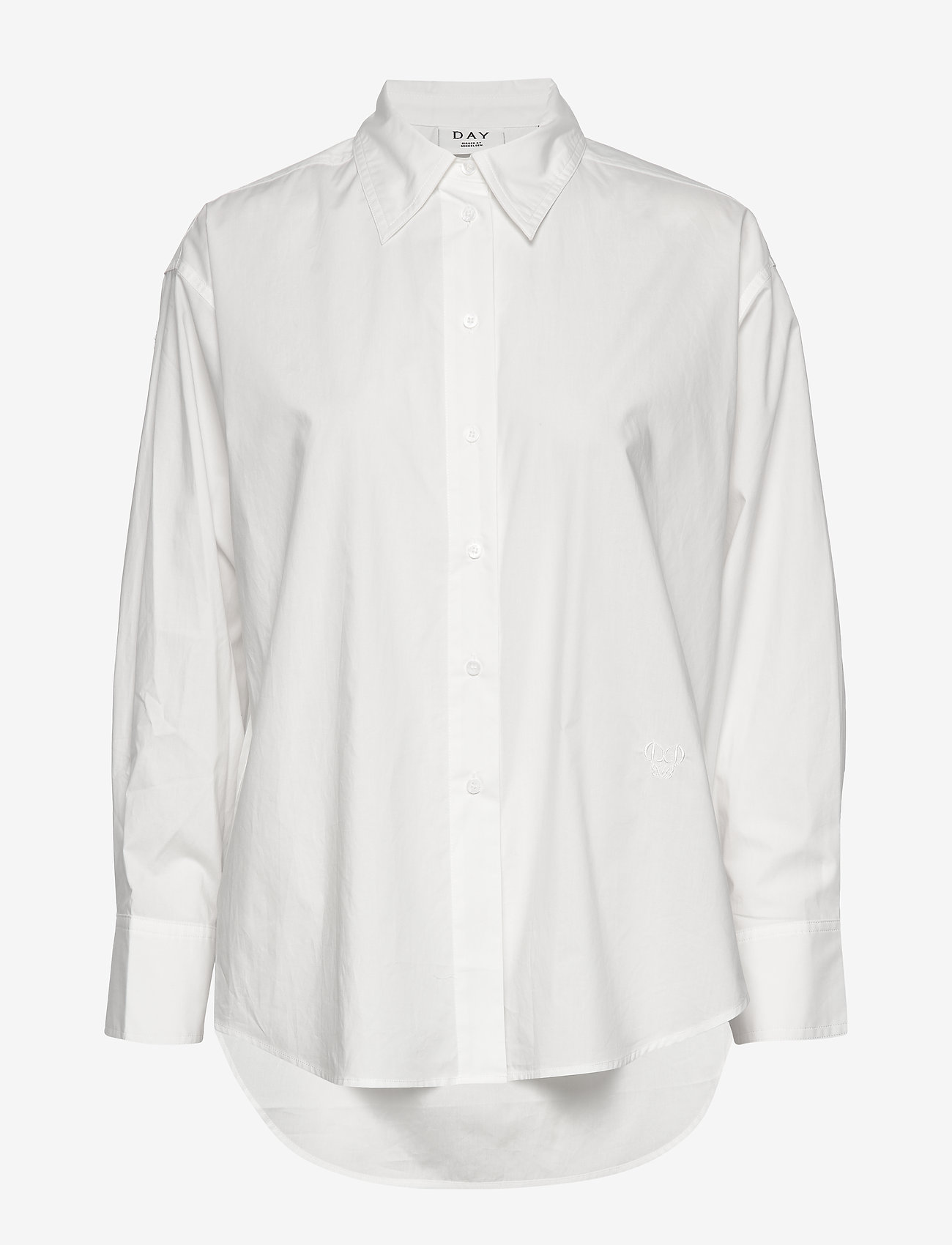 Day Birger et Mikkelsen - Day Barca - chemises à manches longues - white fog - 0