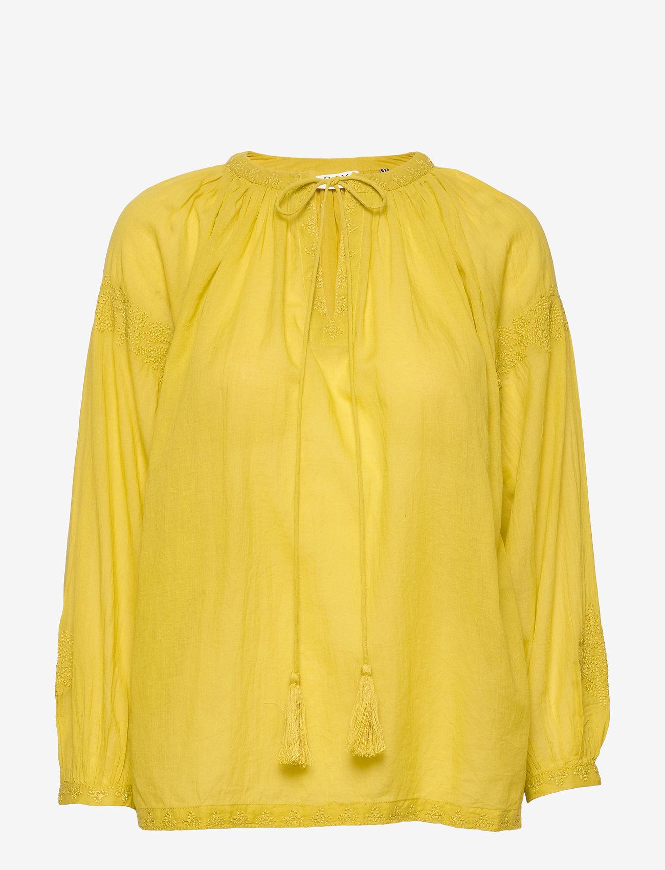 Day Birger et Mikkelsen - DAY Espresso - long sleeved blouses - sweet lime - 0