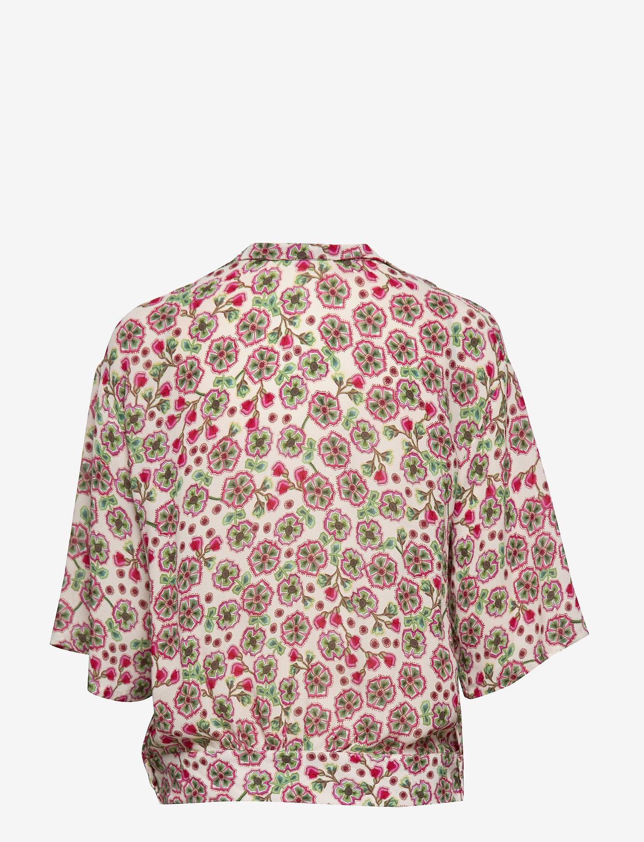 Day Birger et Mikkelsen - Day Fiore - short-sleeved blouses - smoke - 1