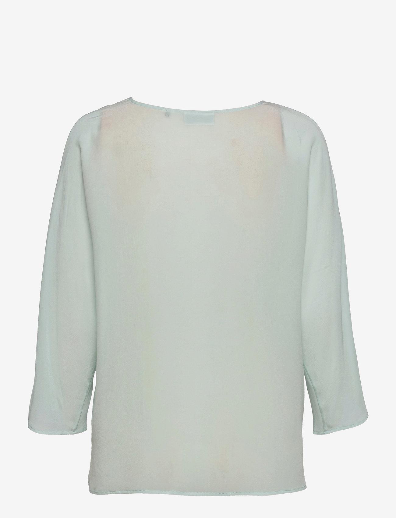 Day Birger et Mikkelsen - Day Fan - long sleeved blouses - sapphire - 1
