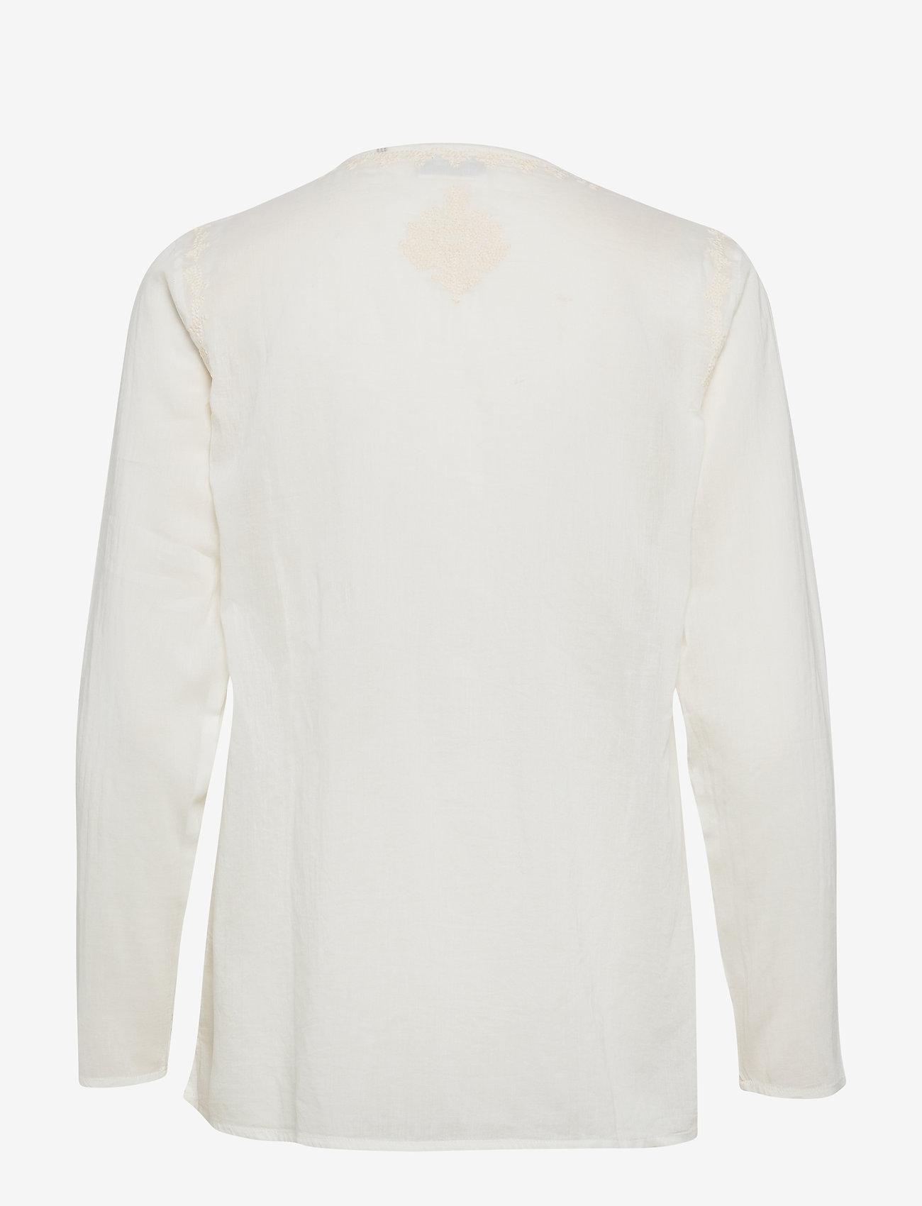 Day Birger et Mikkelsen - Day Espresso - long sleeved blouses - white fog - 1