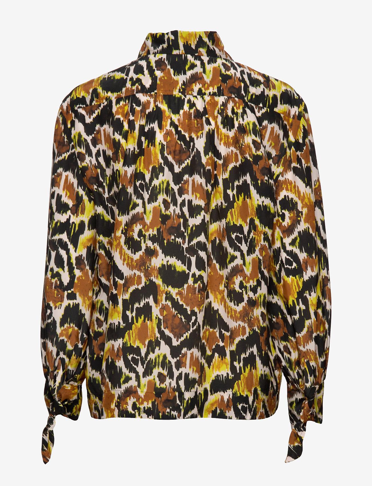 Day Birger et Mikkelsen - Day Glide - long sleeved blouses - sweet lime - 1