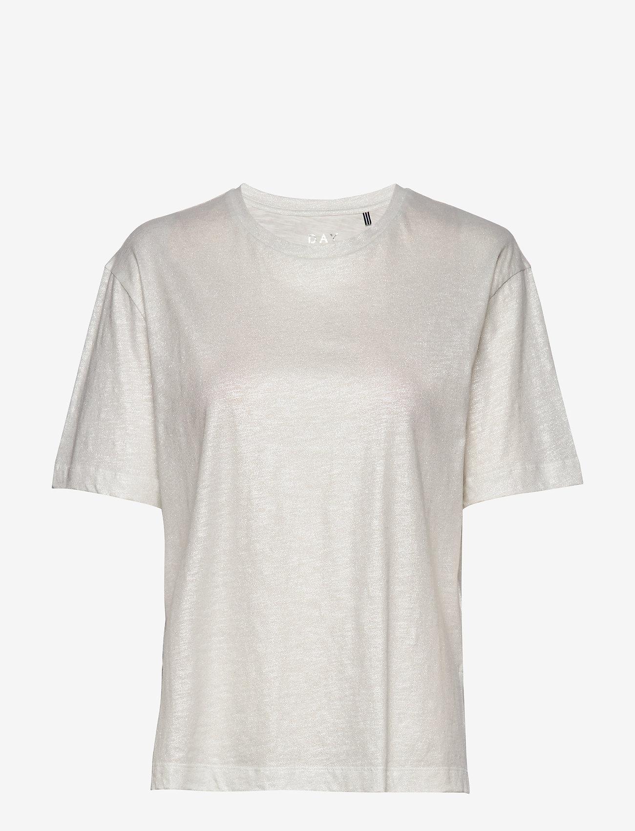 Day Birger et Mikkelsen - DAY Via - t-shirts - white fog - 0