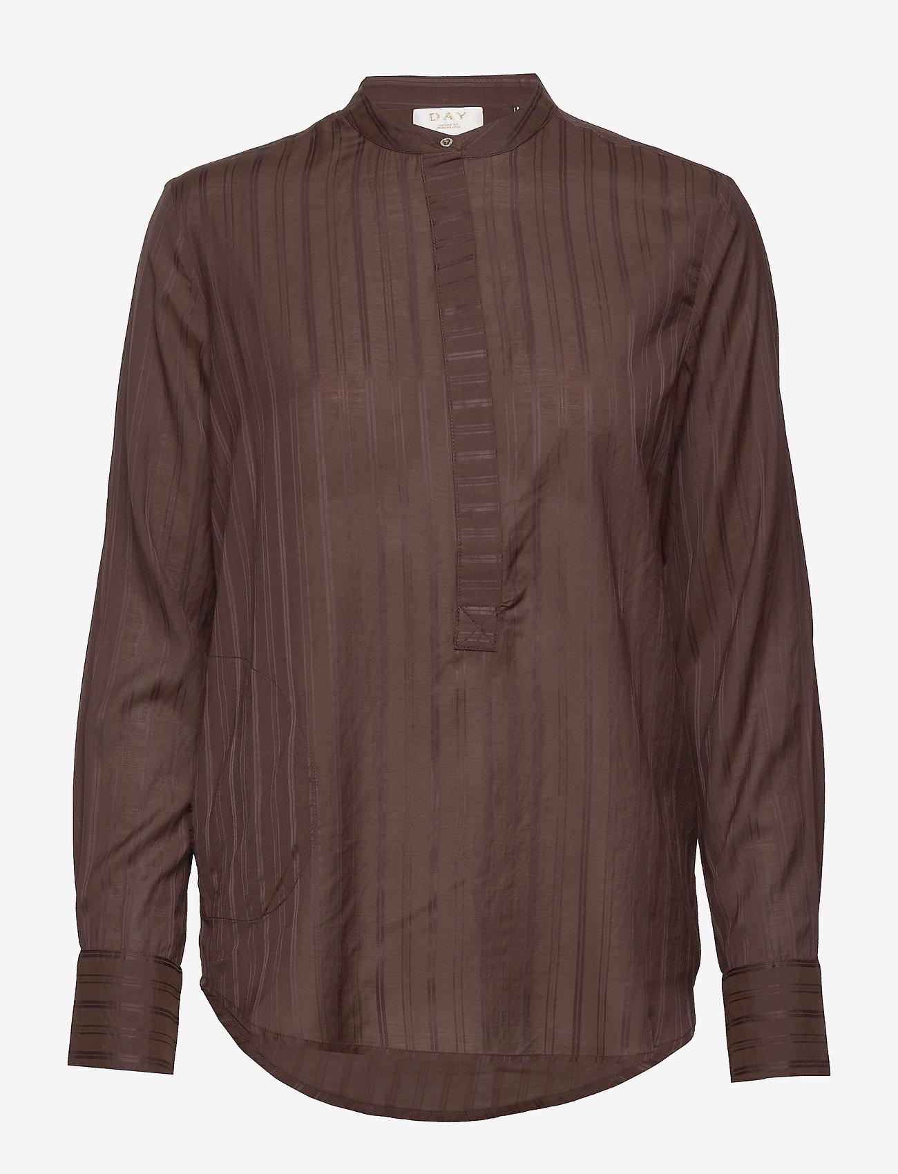 Day Birger et Mikkelsen - DAY Witty - long sleeved blouses - bean - 0