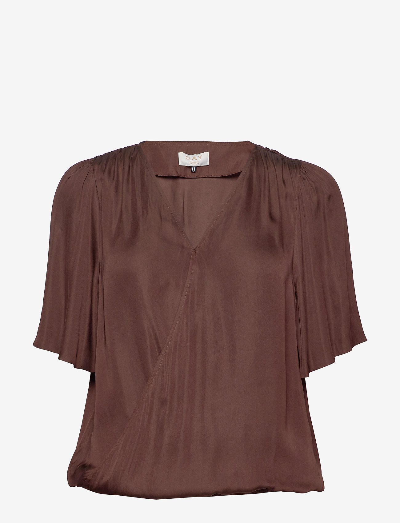 Day Birger et Mikkelsen - DAY Lively - short-sleeved blouses - bean - 0