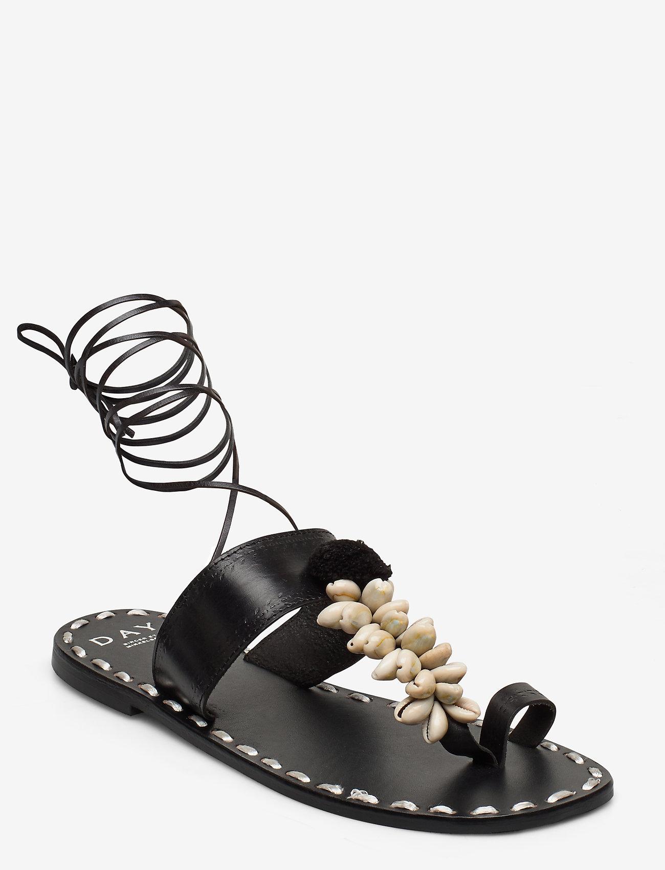 Day Birger et Mikkelsen - DAY Shell Sandal - sandales - black - 0