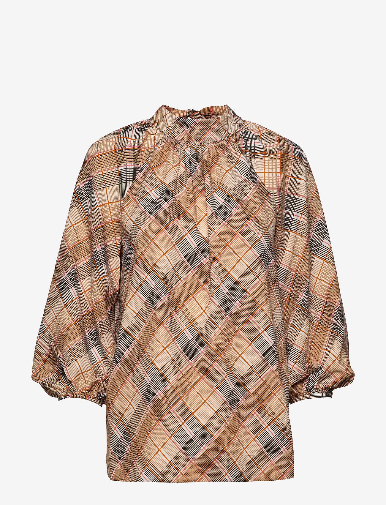 Day Birger et Mikkelsen - Day Tomorrow - long sleeved blouses - ivory shade - 0