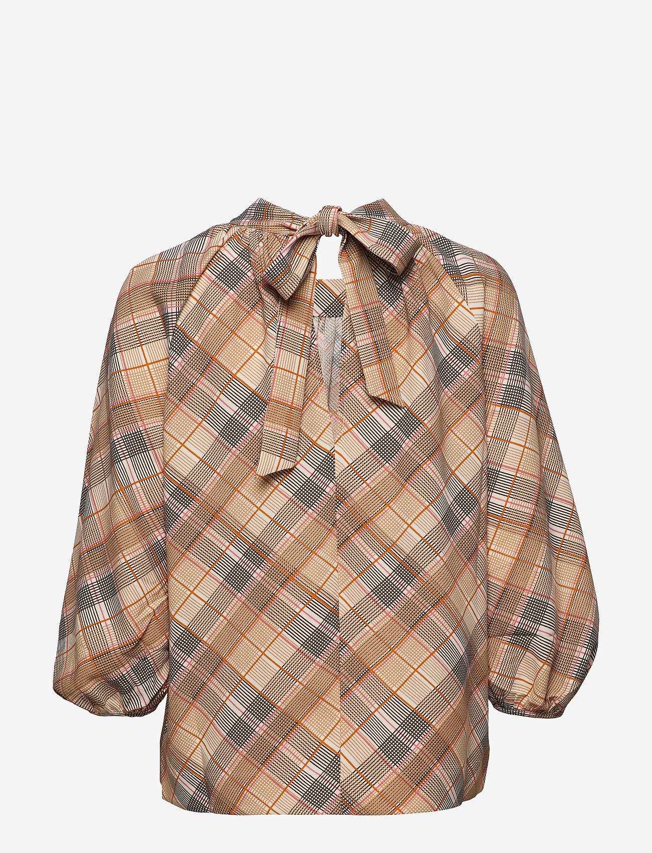 Day Birger et Mikkelsen - Day Tomorrow - long sleeved blouses - ivory shade - 1
