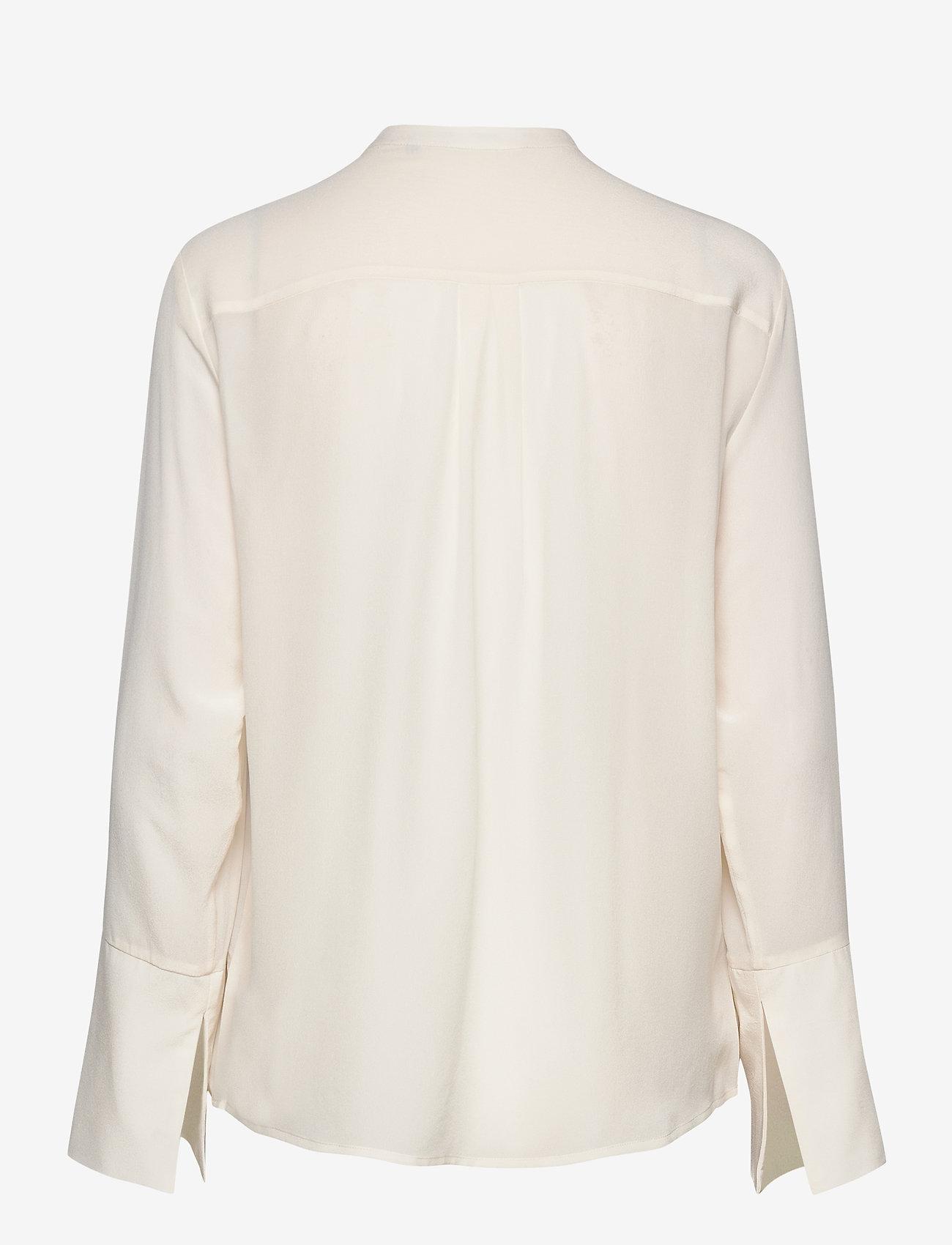 Day Birger et Mikkelsen - Day Fan - long sleeved blouses - ivory shade - 1