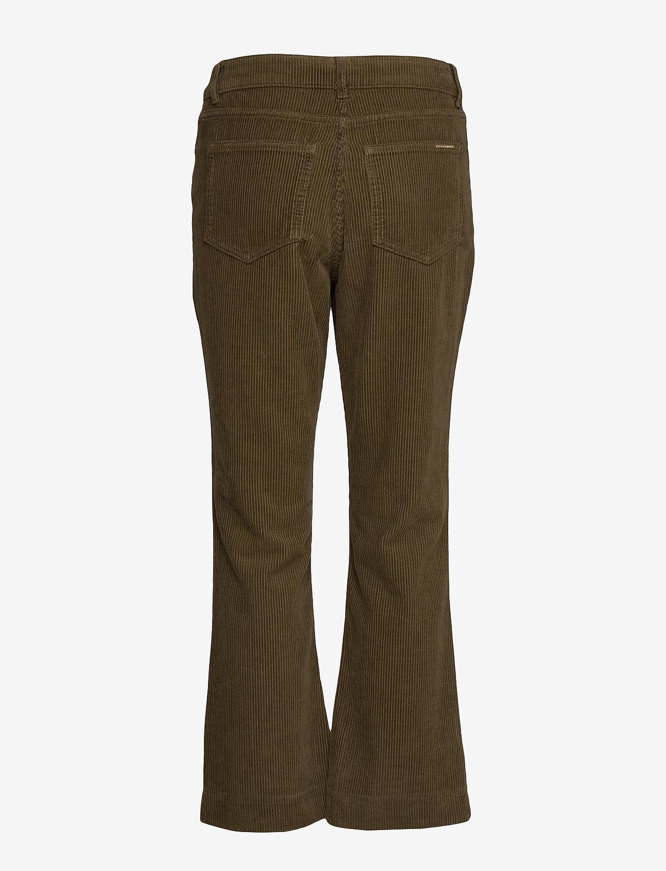 Day Birger et Mikkelsen - Day Kadife - wide leg trousers - forest - 1