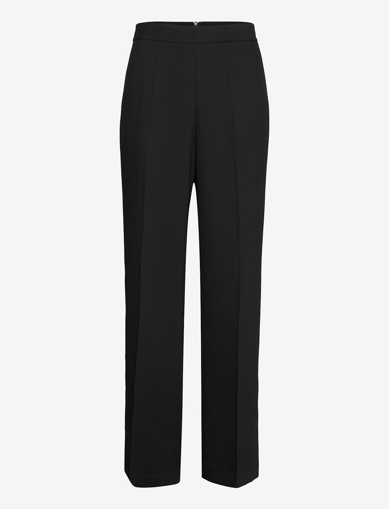 Day Birger et Mikkelsen - DAY Classic Gabardine - bukser med lige ben - black - 0