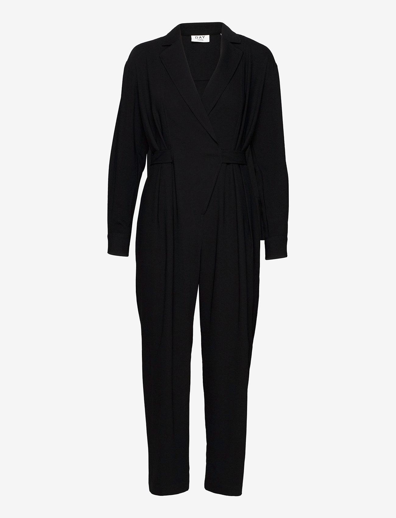 Day Birger et Mikkelsen - DAY Classic Gabardine - jumpsuits - black - 0