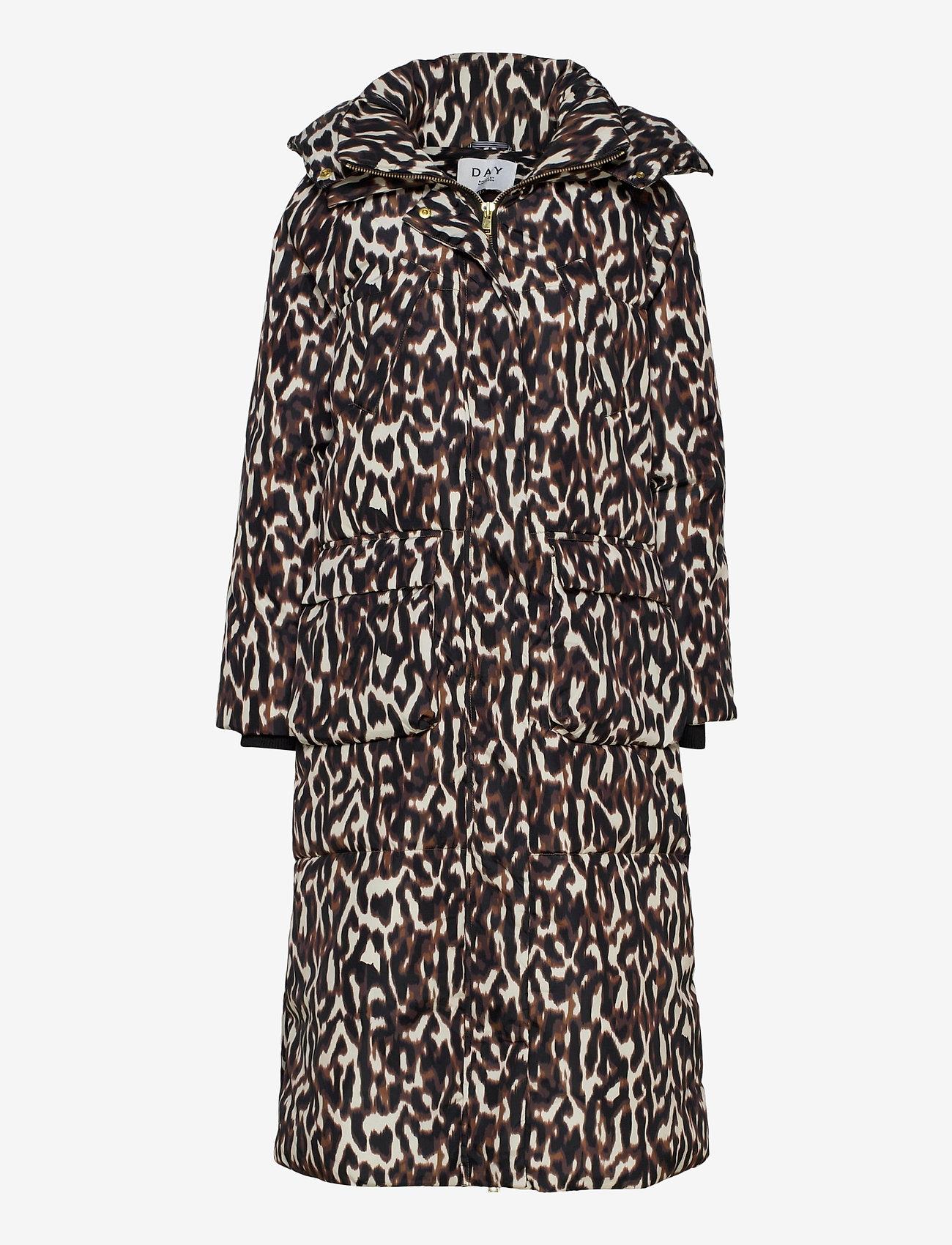 Day Birger et Mikkelsen - DAY New Justine Printed - wyściełane płaszcze - java - 0