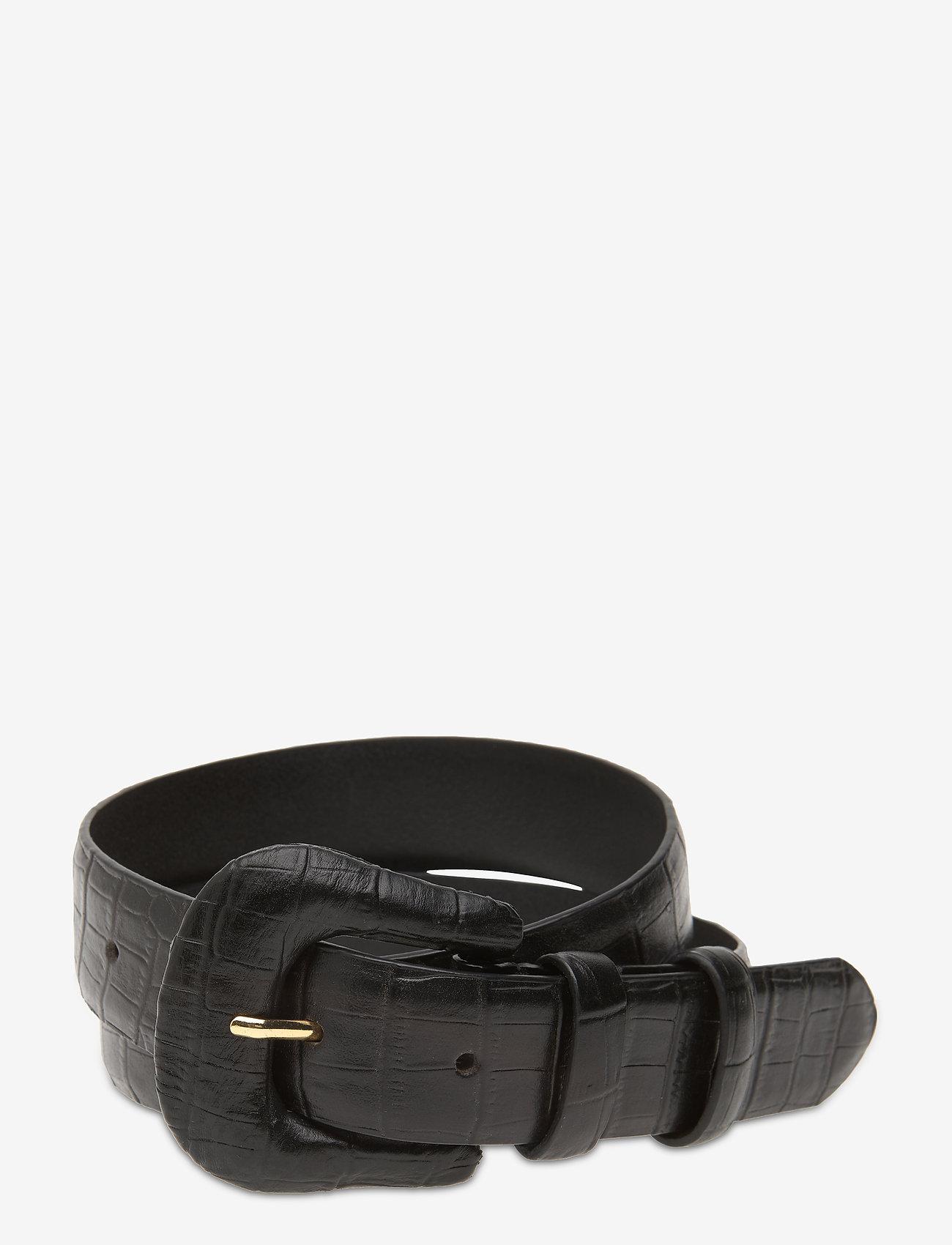 Day Birger et Mikkelsen - DAY Croco Belt - riemen - black - 0