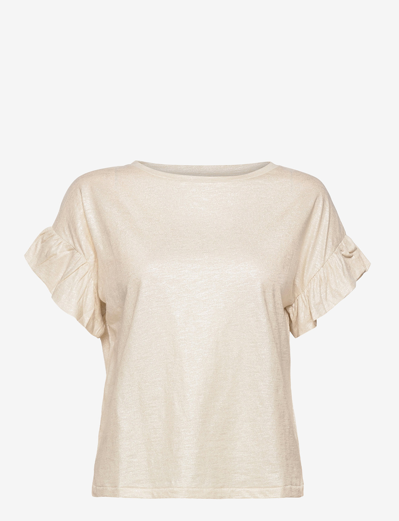 Day Birger et Mikkelsen - Day Permanent - t-shirts - ivory - 0