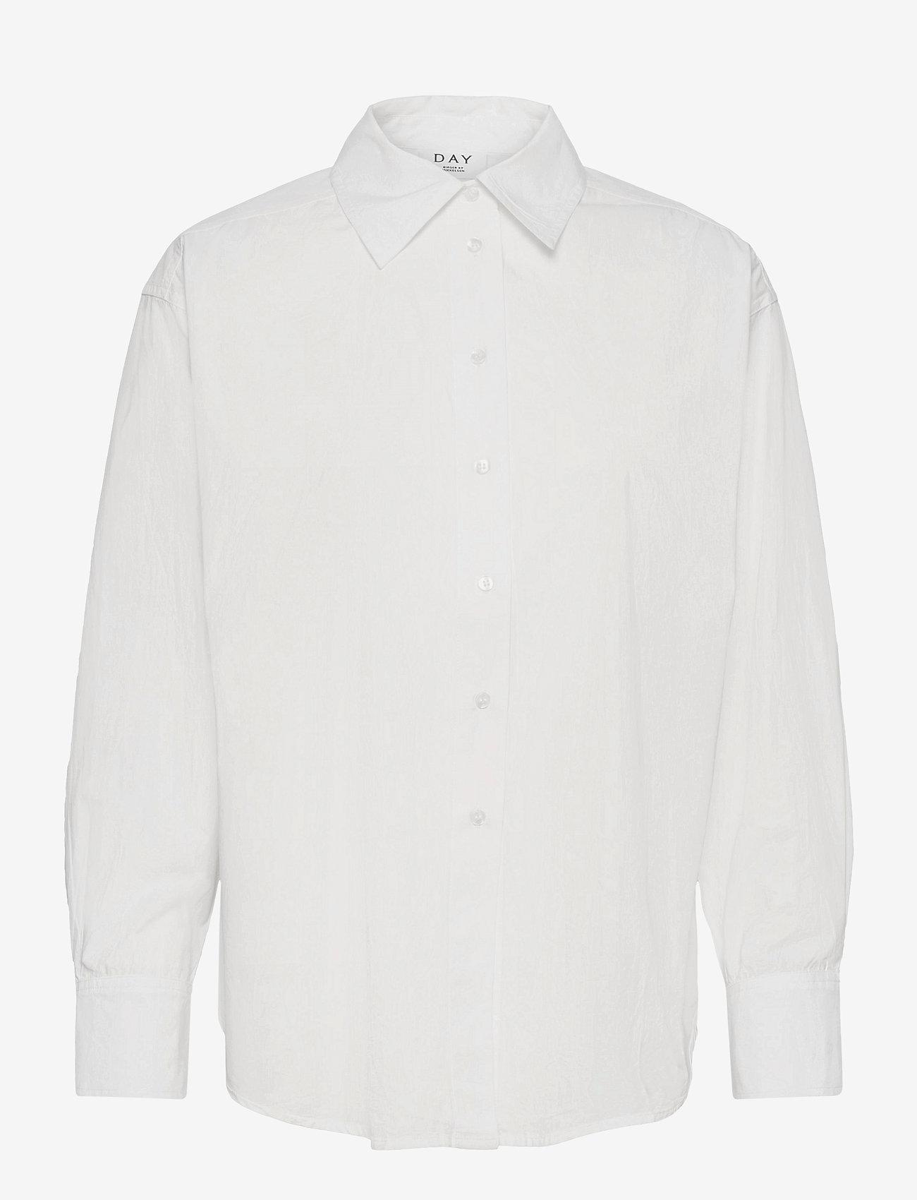 Day Birger et Mikkelsen - Day Listen - langærmede skjorter - white fog - 0