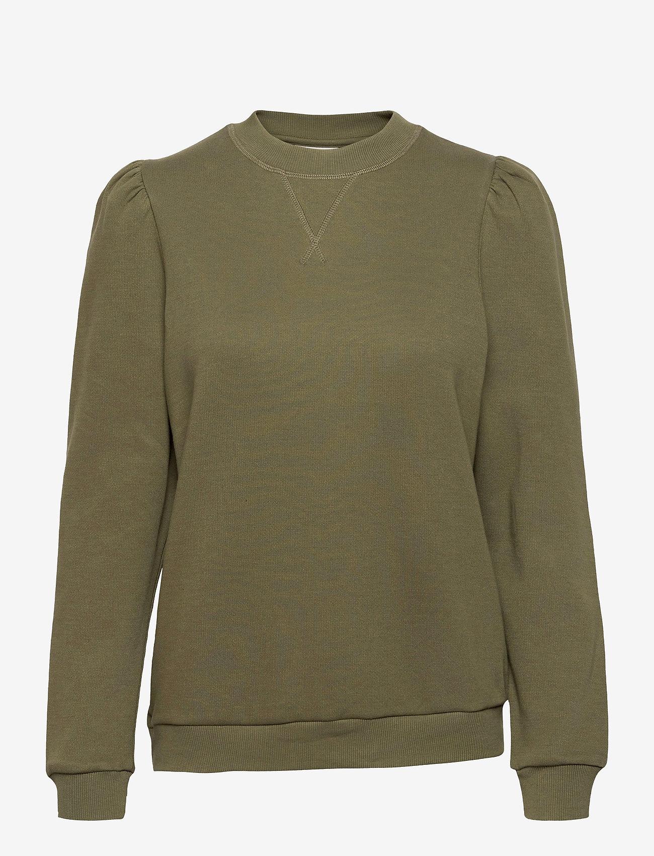 Day Birger et Mikkelsen - Day Spin - sweatshirts - deep olive - 0