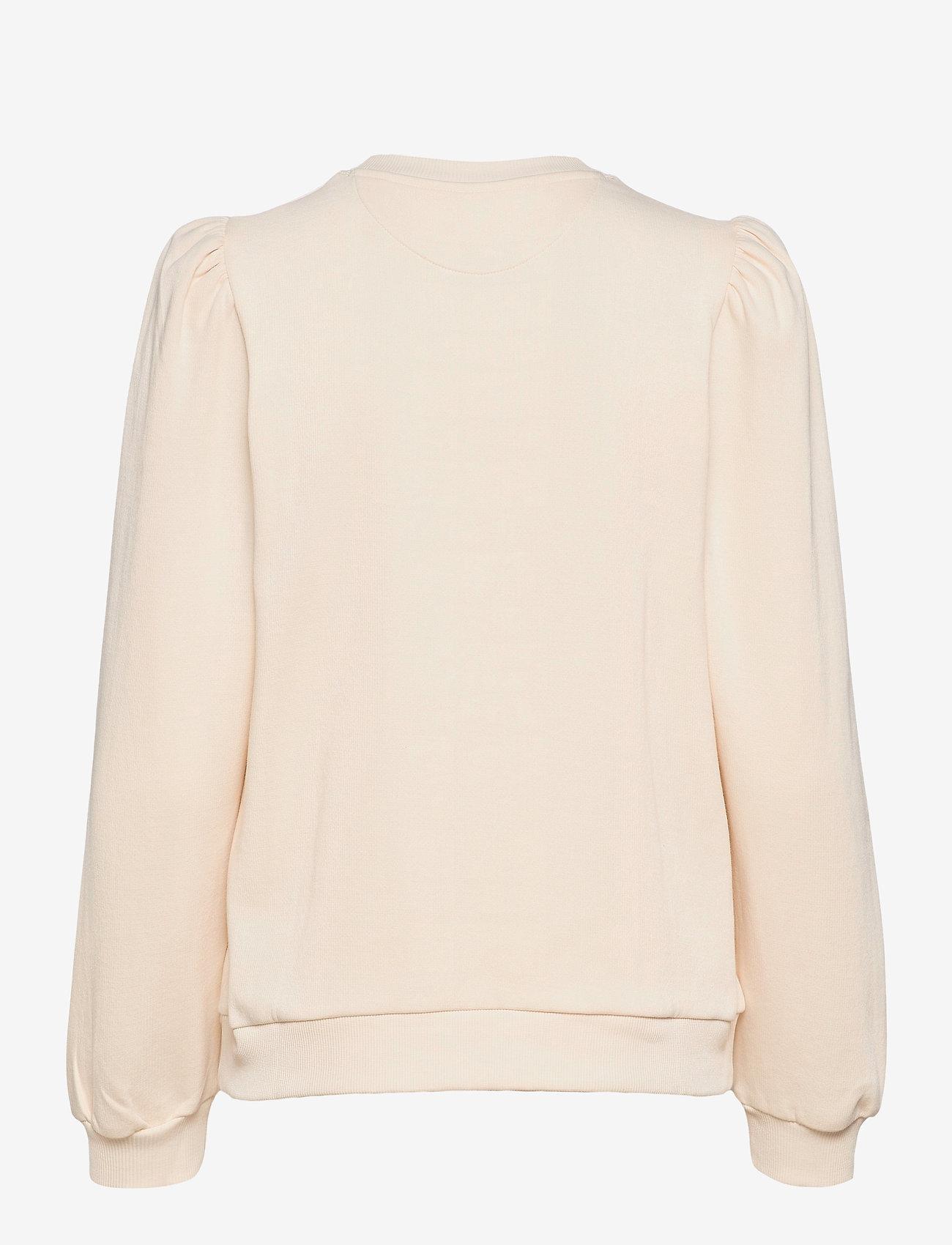 Day Birger et Mikkelsen - Day Spin - sweatshirts - ivory - 1