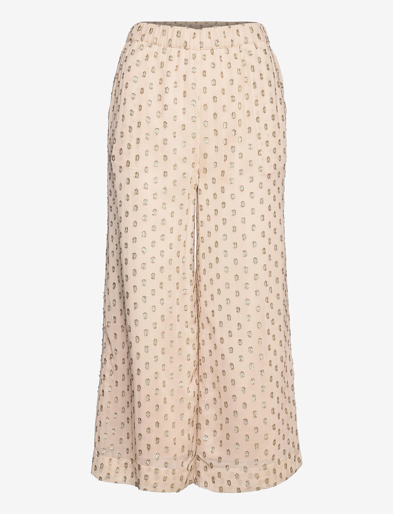 Day Birger et Mikkelsen - Day Lady - bukser med brede ben - ivory shade - 1