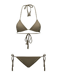 Day Wave Lowcut Bikini - SOLDIER