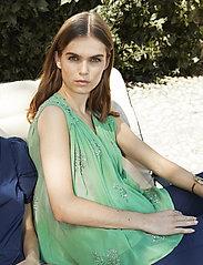 Day Birger et Mikkelsen - Day Regina - sleeveless blouses - menta - 0