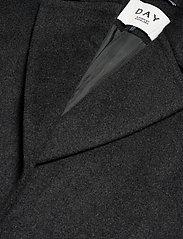 Day Birger et Mikkelsen - DAY Scaffold - wełniane płaszcze - dark grey mel. - 3