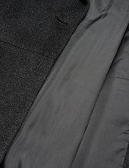 Day Birger et Mikkelsen - DAY Scaffold - wełniane płaszcze - dark grey mel. - 4