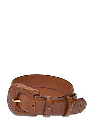 DAY Croco Belt - CARAMELLO